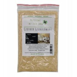 Czosnek granulowany suszony 50g bez dodatków - 100 % naturalny
