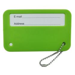 Zawieszka na bagaż walizkę identyfikator z adresem