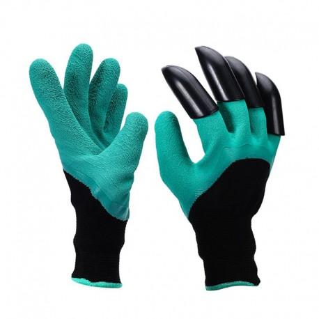 Pazurki rękawiczki ogrodowe grabie pazury