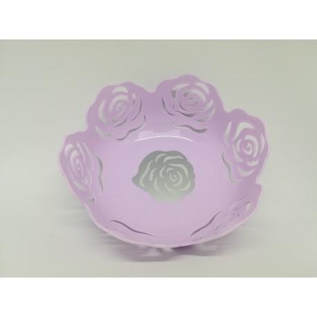 Róża miska koszyczek fioletowy na owoce