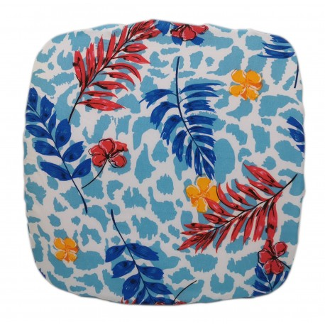 Poduszka kwadratowa na taboret krzesło stołek 30 x 30 cm