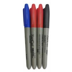 Markery pisaki do tablicy suchościeralnej keyite, 3 kolory