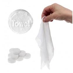 Ręcznik w tabletce chusteczka turystyczna