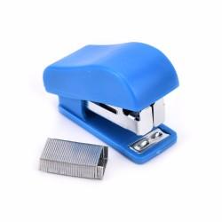 Zszywacz biurowy mini + zszywki