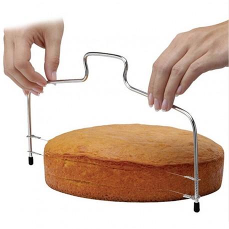 Nóż strunowy do cięcia ciasta biszkoptu tortu 31 cm
