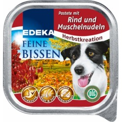 Mokra karma dla psa miękka 150g.