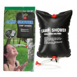 Prysznic solarny ogrodowy campingowy