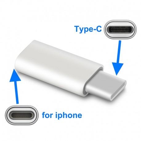 Adapter kabel 4 PIN 2 x mini jack 3.5 mm Apple
