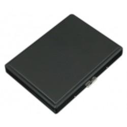 Papierośnica metalowa czarna matowa 6-0153