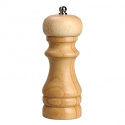 Młynek ręczny do pieprzu soli drewniany