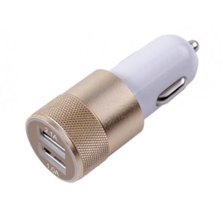 Ładowarka samochodowa charge zasilacz 2x USB 1.0A/2,1A