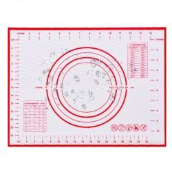 Stolnica mata podkładka silikonowa z podziałką 40 x 30 cm