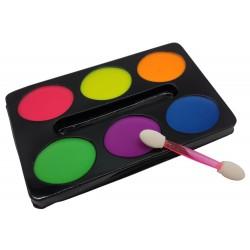 Zestaw farb do malowania twarzy, farby do ciała, 6 kolorów