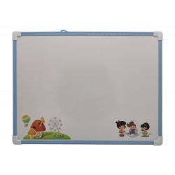 Tablica suchościeralna magnetyczna dla dziecka 40 x 30 cm