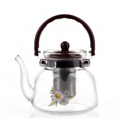Żaroodporny dzbanek 0,8l zaparzacz kawa herbata