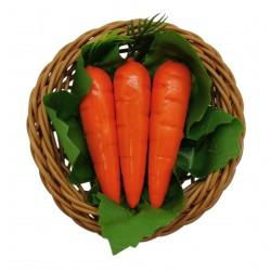 Magnes ozdobny na lodówkę koszyk z warzywami