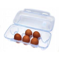 Pojemnik na 10 jajek wytłaczanka plastikowa na jajka