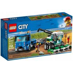Oryginalne klocki LEGO CITY Kombajn 60223 Transporter Kombajnu