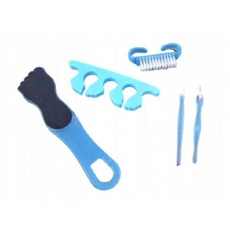 Zestaw do pedicure manicure 5 elementów