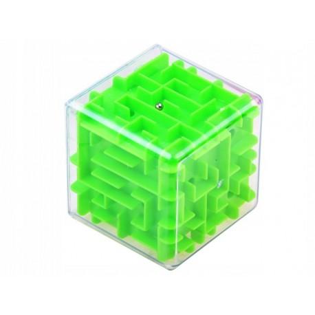 Kostka 3D labirynt gra zręcznościowa logiczna łamigłówka