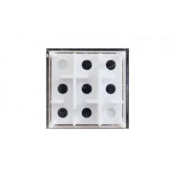 Gra logiczno-zręcznościowa labirynt kostka z kulką