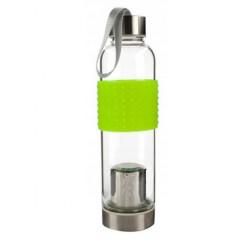 Butelka szklana z zaparzaczem 630 ml.