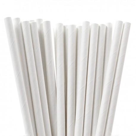Słomki papierowe do picia urodziny 25 sztuk