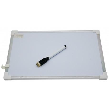 Tablica suchościeralna magnetyczna z mazakiem 30 x 20 cm