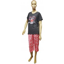 Piżama damska bawełniana 3/4 r.M