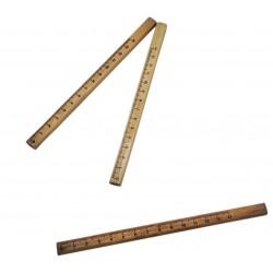 Ołówek drewniany stolarski budowlany linijka