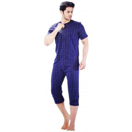 Piżama męska bawełniana 3/4 r.XL