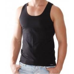 Podkoszulka na ramiączkach męska czarna - M