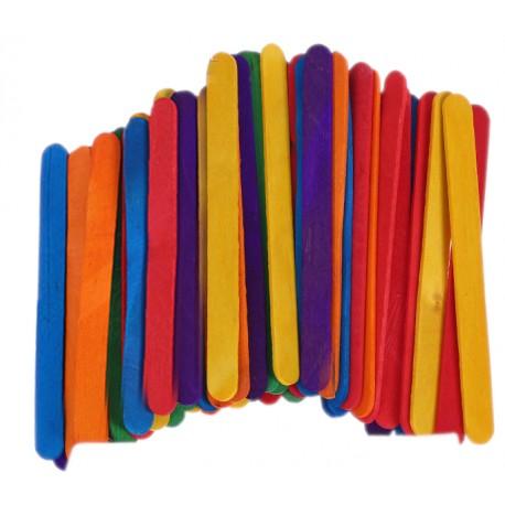 Patyczki kreatywne kolorowe 50szt.