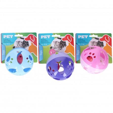 Zabawka dla kota piłka z dzwoneczkiem