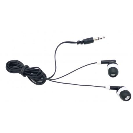 Słuchawki przewodowe douszne dokanałowe telefon mp3 mp4