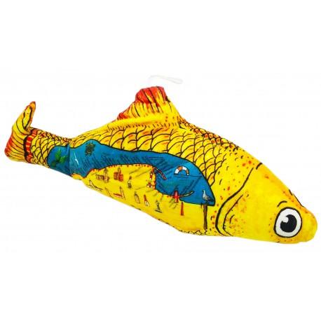 Poduszka ryba pluszak zabawka 33cm