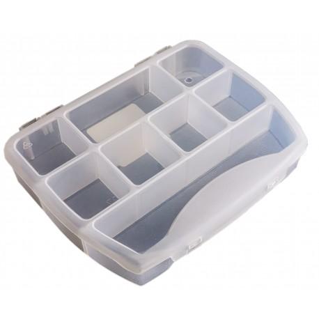 Organizer pojemnik pudełko na śrubki drobiazgi - 8 przegródek