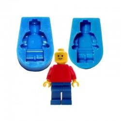 Forma silikonowa do czekoladek lodu LUDZIK LEGO