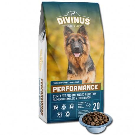 Divinus Performance dla owczarka niemieckiego 20kg
