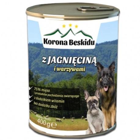Karma Korona Beskidu z jagnięciną 400g (75% mięsa)