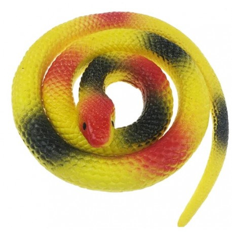 Wąż gumowy rozciągliwy PRANK TOY 60 cm MIX