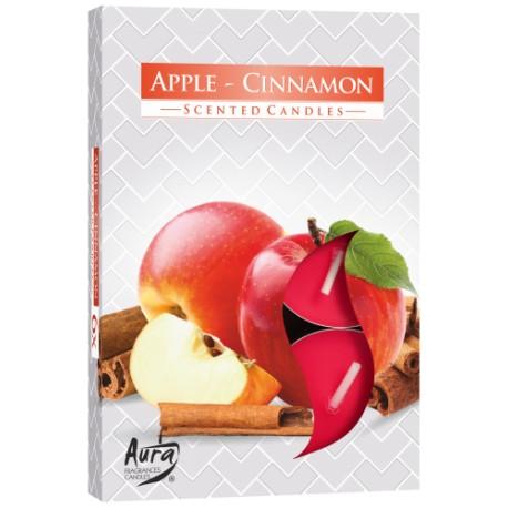 Podgrzewacze świeczki Jabłko cynamon6 sztuk