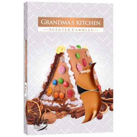 Podgrzewacze świeczki Kuchnia babci 6 sztuk