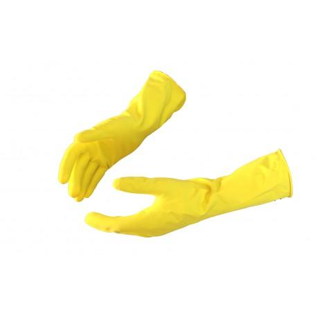 Rękawice gospodarcze gumowe ochronne lateksowe