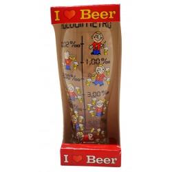 Szklanka do piwa I LOVE BEER 500ml