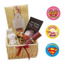 Zestaw prezentowy kosmetyki koszyczek urodziny dzień matki