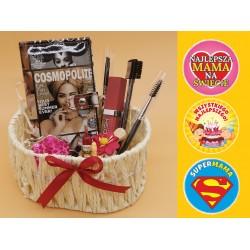 Zestaw prezentowy miseczki koszyczek urodziny dzień matki