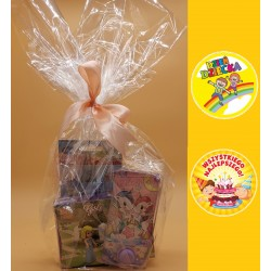Zestaw prezentowy zabawki koszyczek urodziny dzień dziecka
