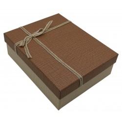 Pudełko ozdobne prezentowe eleganckie 20 x 16 x 6,5 cm