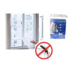Moskitiera siatka na okno komary muchy 150 x 130 cm